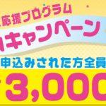 ドコモ子育て応援プログラムにウェルカムキャンペーン!今なら更に3000Pプレゼント実施中!