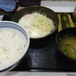 吉野家「ダブルハムエッグ定食」食べてみた!ハムエッグの硬さリクエスト対応に感激!